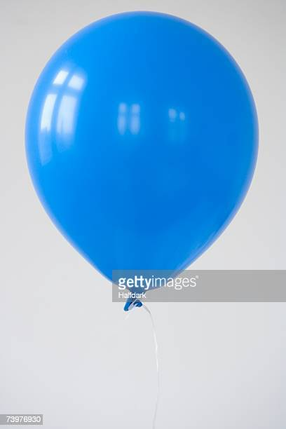 A blue balloon