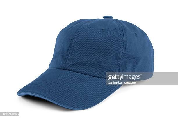 Boné de beisebol azul
