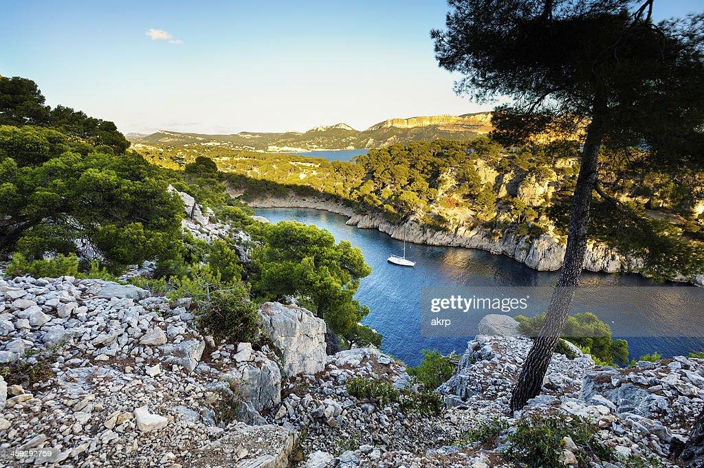 Blue Bay in 'Les Calanques de Cassis'