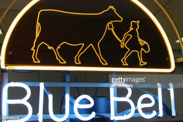 Blue Bell Creameries neon sign