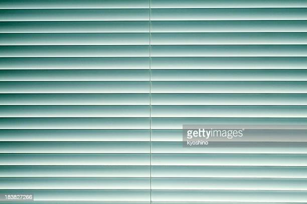 Blue blinds texture background
