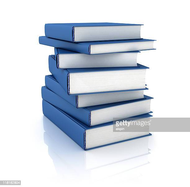 Blue Books stack