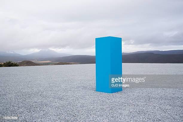 Blue box im Freien