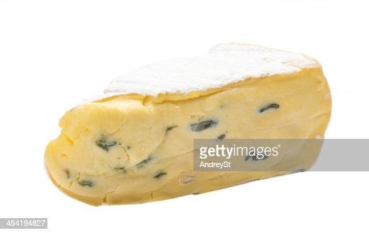 brie Queijo Azul : Foto de stock