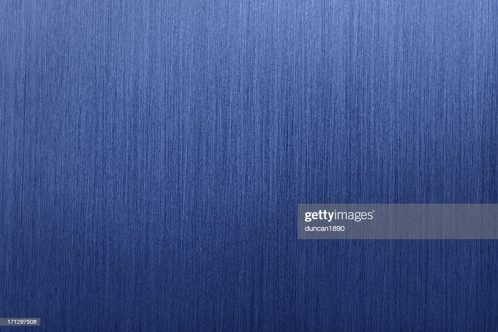 blue brushed metal background