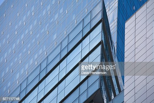 Blue buildings : Stock-Foto
