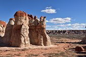 Blue Canyon located in the Native American reservation near Tuba City, Arizona