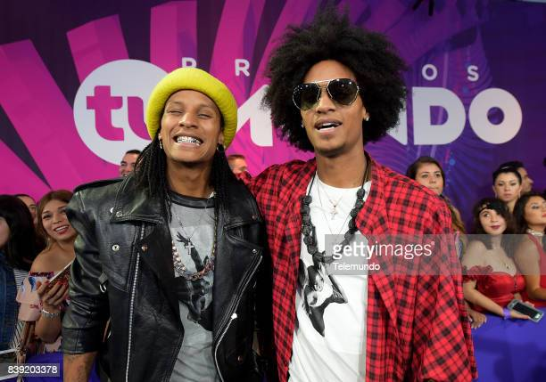 MUNDO 2017 'Blue Carpet' Pictured Les Twins arrives to the 2017 Premios Tu Mundo at the American Airlines Arena in Miami Florida on August 24 2017
