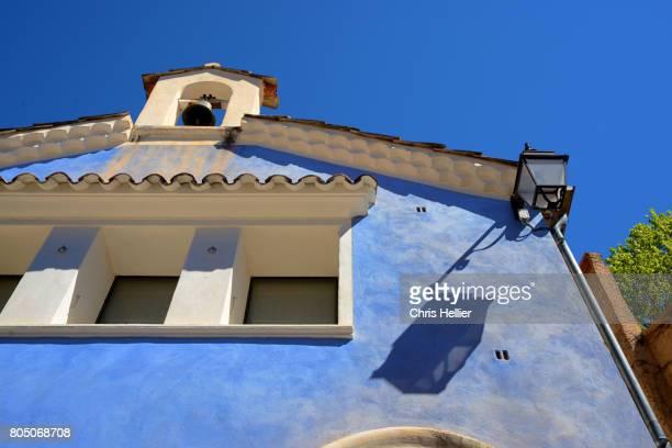 Blue Chapel Moustiers-Sainte-Marie or Moustiers France