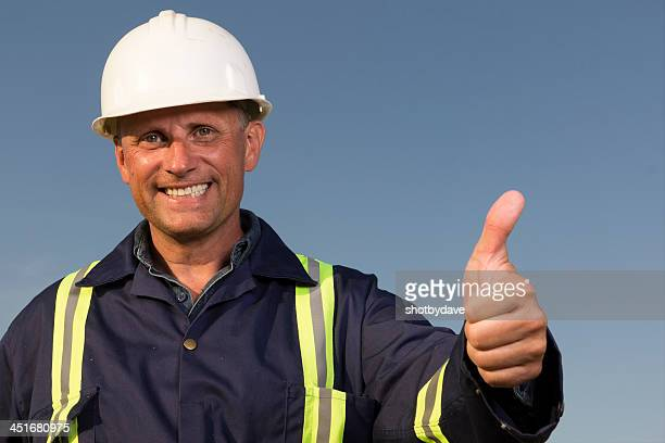 Blue Collar Thumbs Up