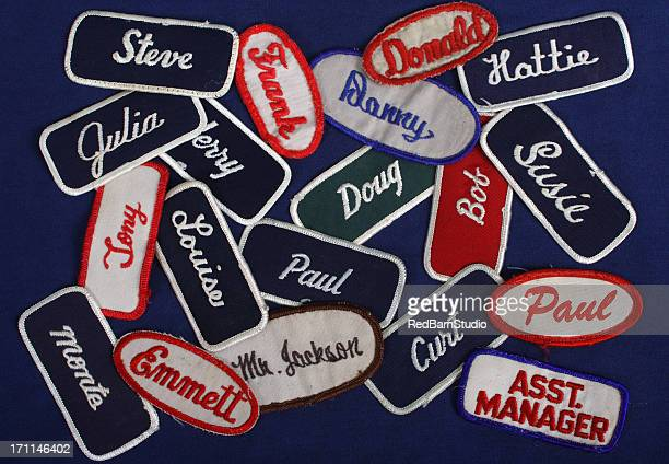Blue Collar,Name Tags,Tags,badges,identificarion,workers,employment,