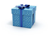 Blue color Gift Box
