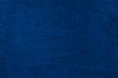 Blue color velvet texture background