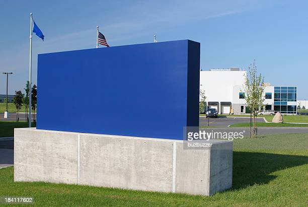 Blue Corporate Sign