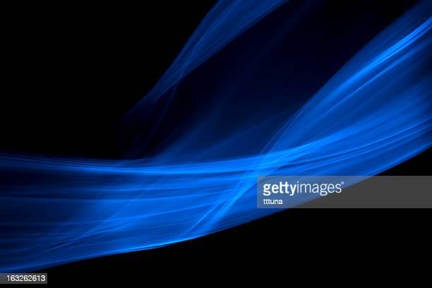 Blau, kreative abstrakte Vitalität Auswirkungen Rauch Foto