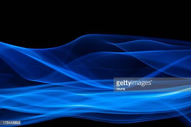 Abstrait bleu, créatif vitalité impact non-photo