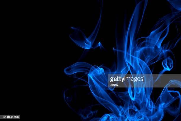 Azul, Criativo abstrato vitalidade impacto fumo fotografias