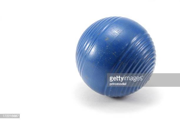 Blue Croquet Ball