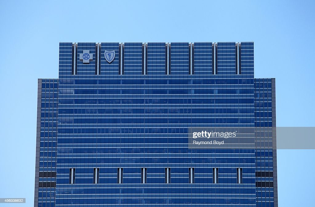 Blue Cross Blue Shield Tower on July 09 2014 in Chicago Illinois