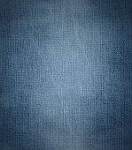 Blue denim with light effect