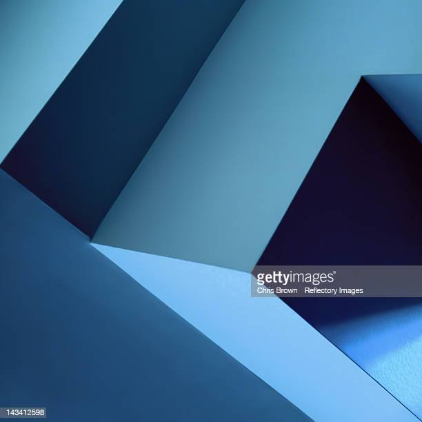 Blue diagonals