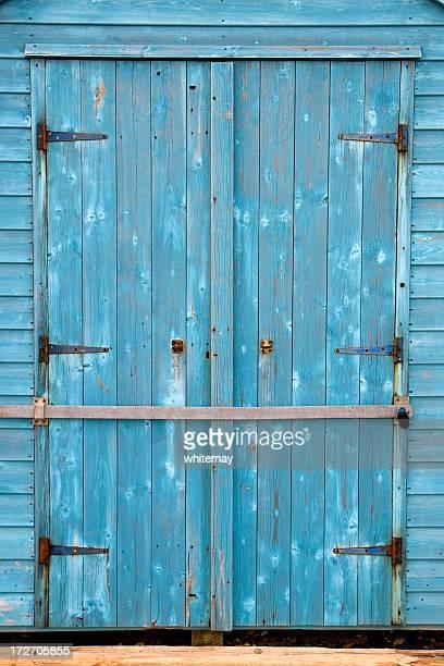 Portes bleue