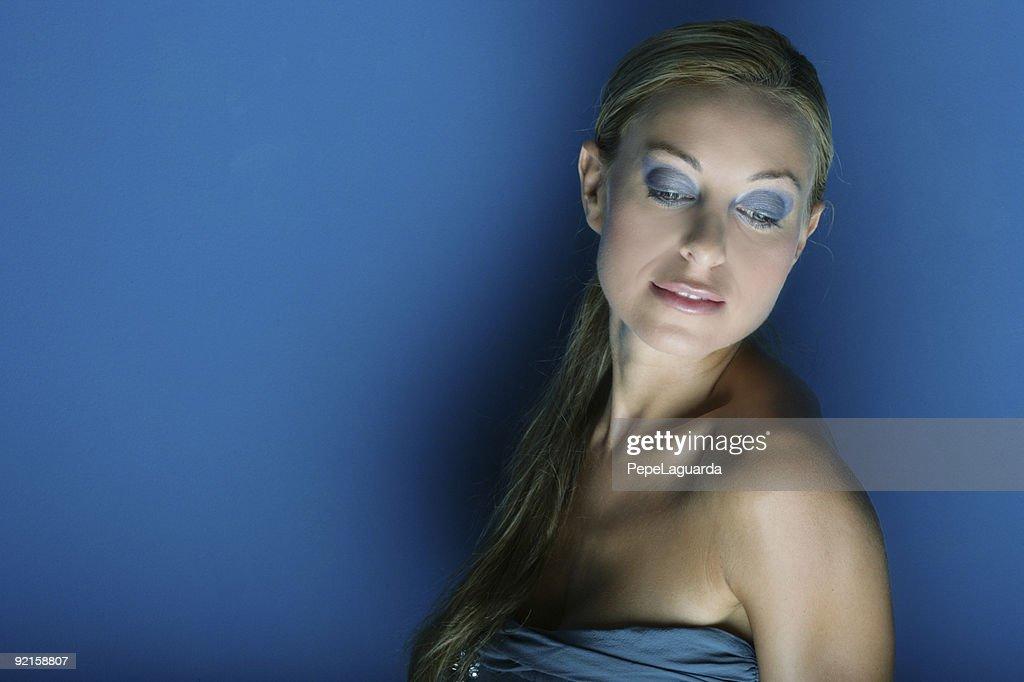 Blue dreams : Stock Photo