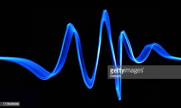 Blue Electron Wave
