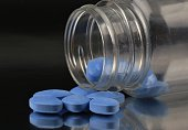 Blue erectile dysfunction medication