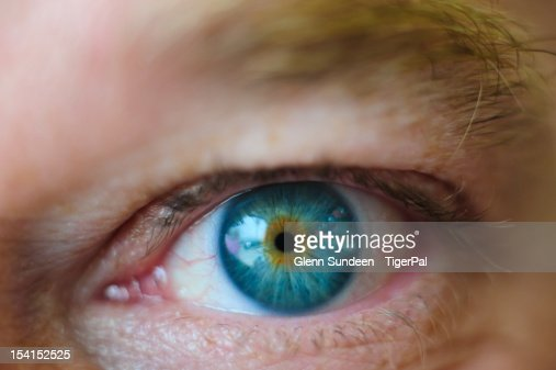 Blue eye : Stock Photo
