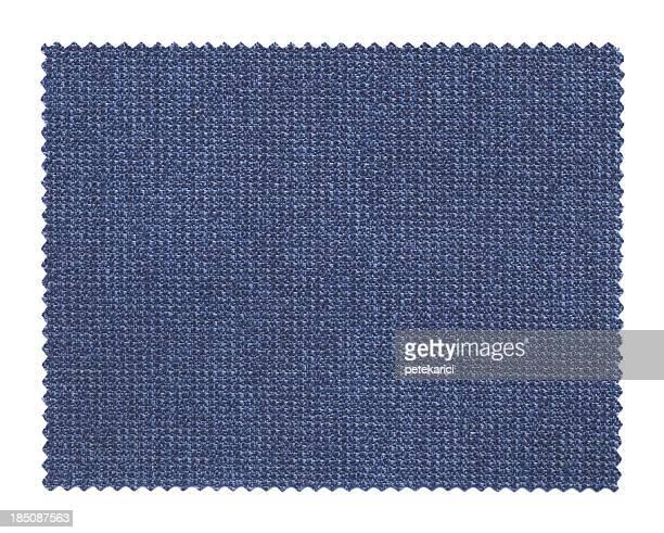 Blu campione di tessuto