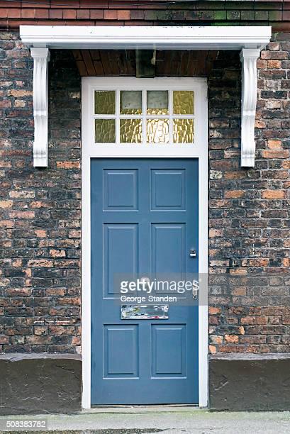 Blue Tür
