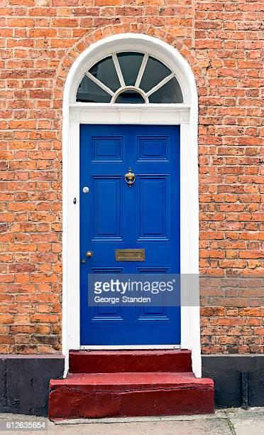Blue Front Doors