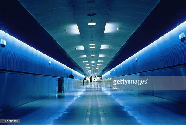Blue gangway