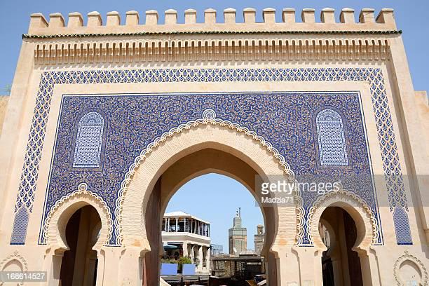 Blue Gate in Fez