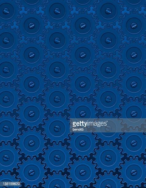 ブルーのギア