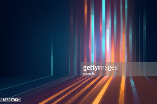 blue geometric  shape abstract technology background : Stock Photo
