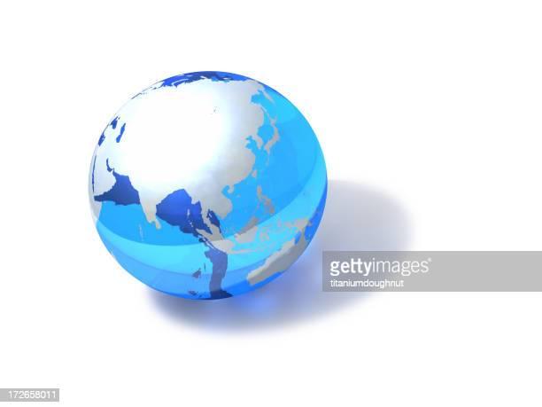 Blue Globe - Asia