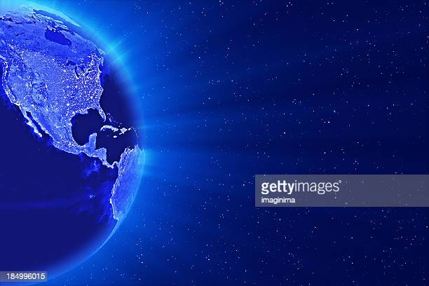 Blauer Welt
