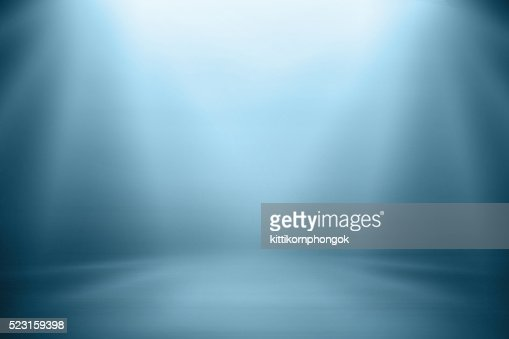 Blue gradient blurred abstract background. : Stock Photo