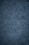Blue Gray Victorian Background