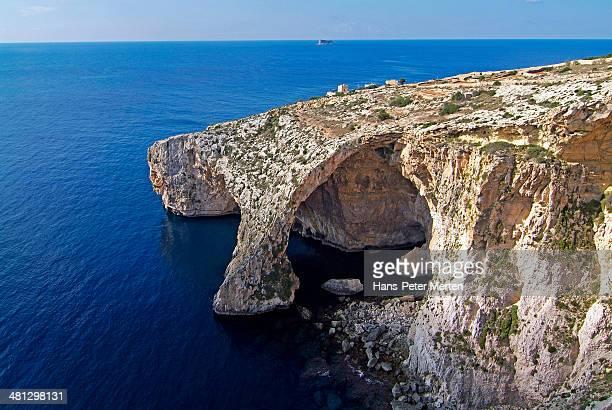 Blue Grotto near Zurrieq, Malta