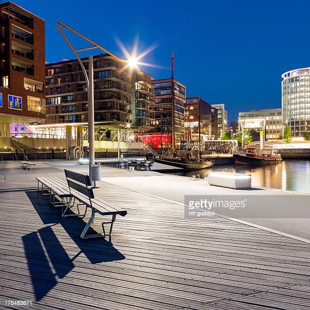 Blue Hamburg Hafencity