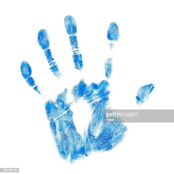 Mão azul