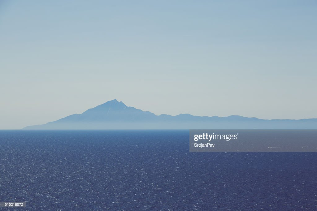 Blue horizon : Stock Photo