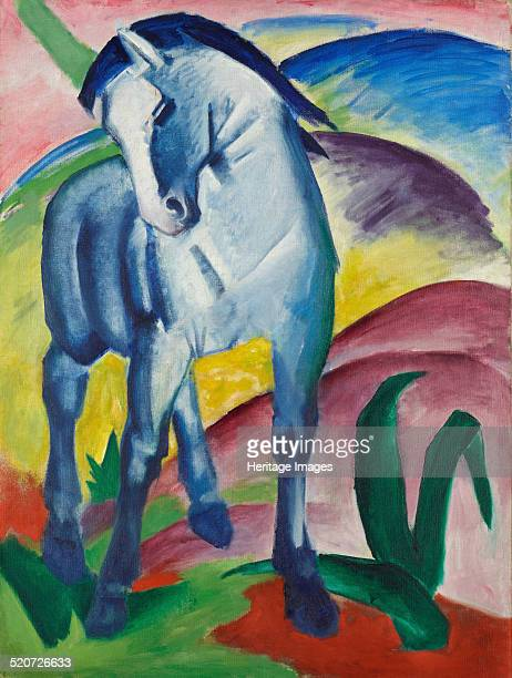 Blue Horse I Found in the collection of Städtische Galerie im Lenbachhaus Munich