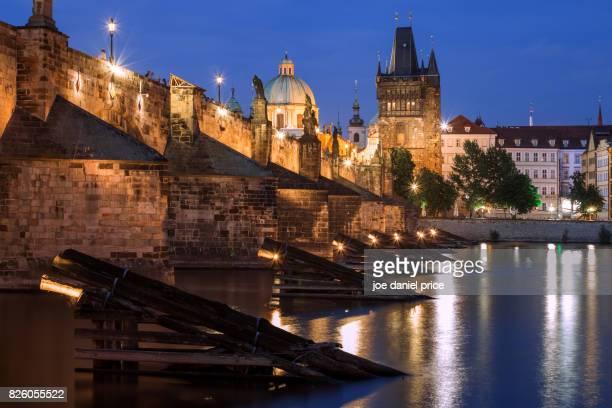 Blue Hour, Charles Bridge, Prague, Czechia