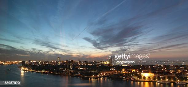 Blue hour in Rotterdam