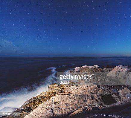 Maritime Provinces Seascape Painting Canada