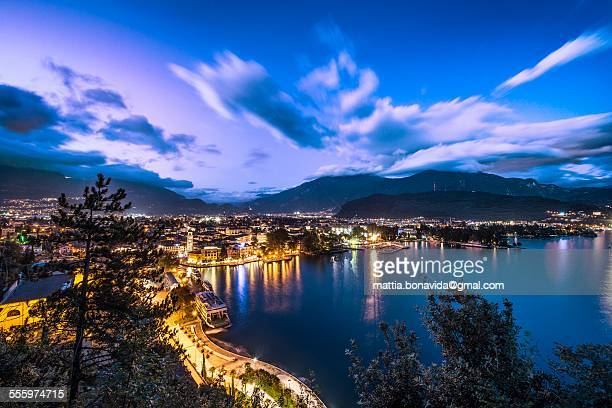 Blue hour on Riva del Garda